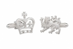 Crown and Lion Cufflinks